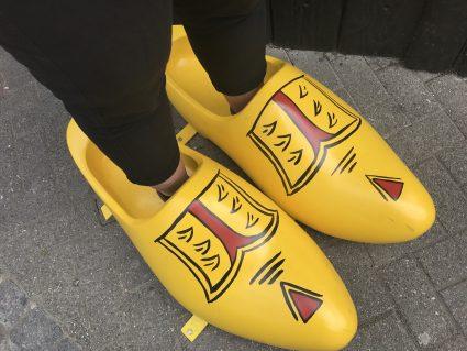Die Schuhe sind zu groß